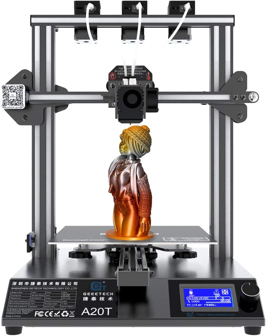 Geeetech A10T A20T A30T 3D Printer 3 in 1 out Hotend Kit
