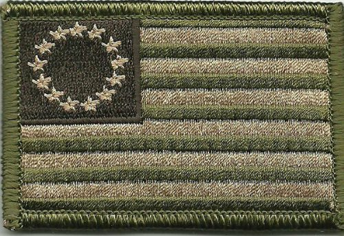 Tactical Betsy Ross Flag Patch - Multitan
