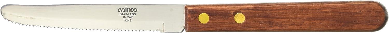 Winco Round Tip Steak Knife, 4 1/2-Inch