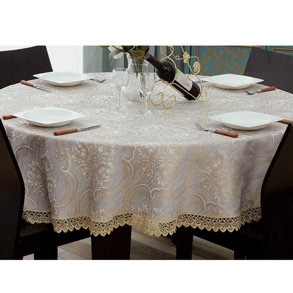 LZH Couchtisch Runde Tischdecke Spitze Durchbrochenen Stoff Runden Hause Großen Großen Großen Runden Tisch Esstisch Tischdecke,lila-120cm B07GJJ9RK8 Tischdecken 15b3d1