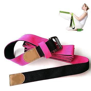 Yoga Strap Bandas de Resistencia Cinturón elástico de Yoga ...