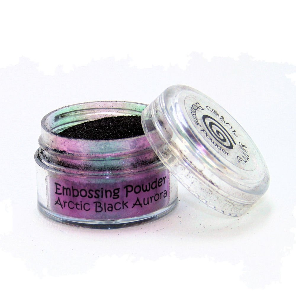 Cosmic Shimmer Embossing Powder, Acrylic, Arctic Black, 6 x 4.5 x 3.2 cm Creative Expressions CSEPARCBLK