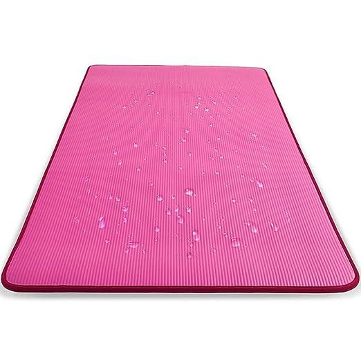 Mats Antideslizante Yoga Mat - Protección Ambiental NBR Lock ...