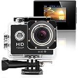 GeekPro Pro 1 Wifi 12MP Full HD 1080P Sports Camera Waterproof Action DV 170° Wide Helmet Camcorder DVR Sport Camera Action Camera DV Camcorder