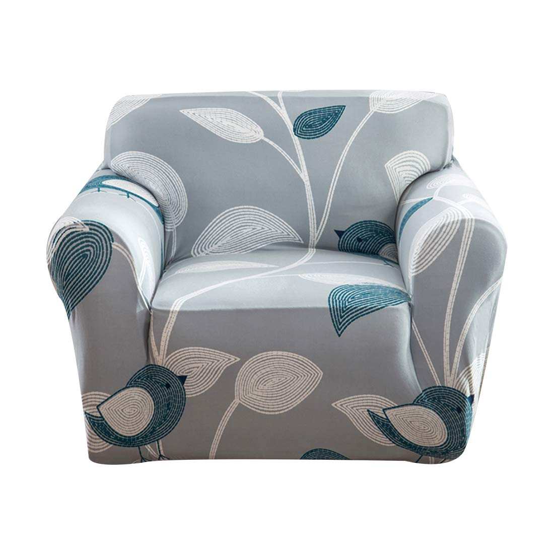 FORCHEER Armchair Slipcover Stretch Printed Sofa Cover Furniture Protector for Living Room 1 PC(Style #8,Chair)