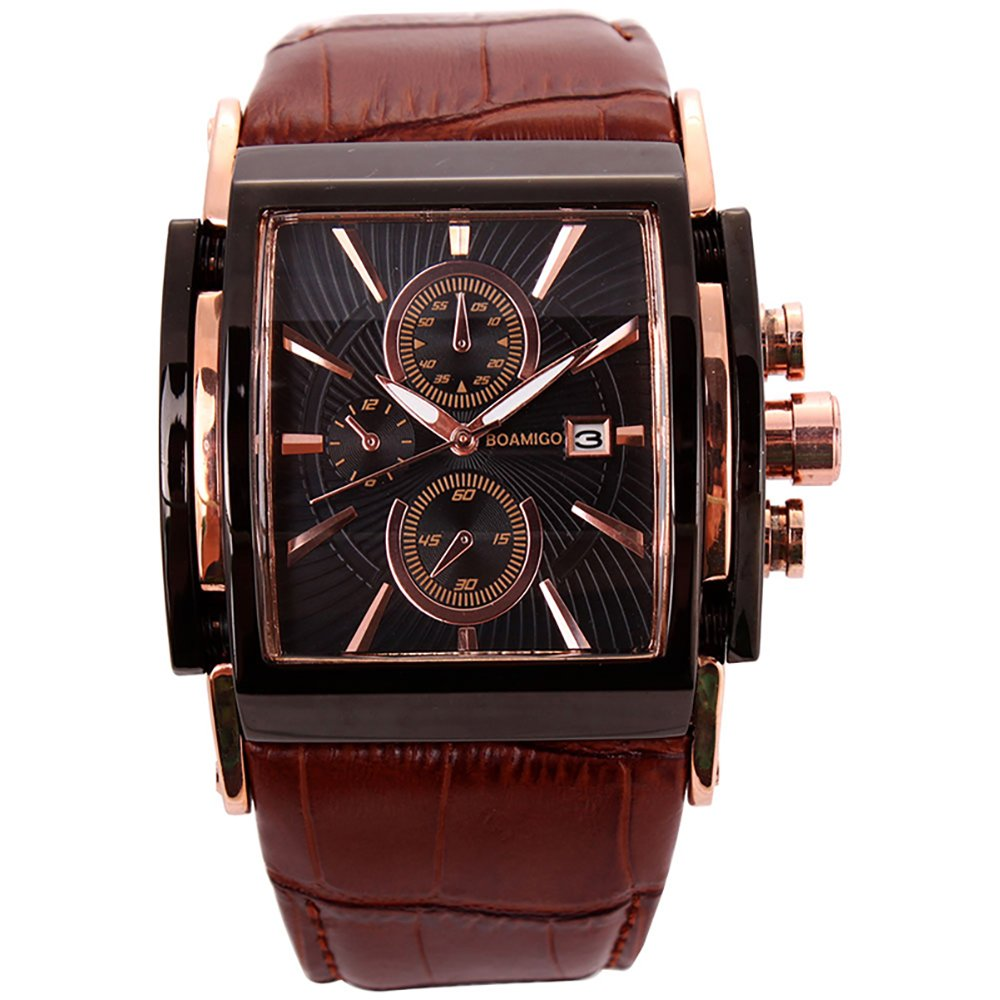 Amazon.com: Relojes de Hombre Cronógrafo De Cuarzo Reloj Men ...