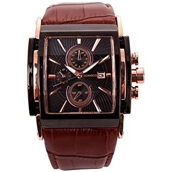 Relojes de Hombre Cronógrafo De Cuarzo Reloj Men Moda para Caballero Caja de Acero Inoxidable 2019