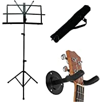 PENNYCREEK Notation Stand with Guitar Wall Mount Stand Combo