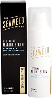 The Seaweed Bath Detox + Age Defying Restoring Marine Serum, Clinically Proven Ingredients, 1 oz.