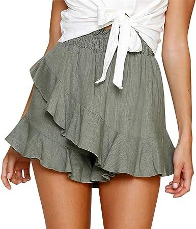 FELZ Falda Mujer Corta Falda Mujer Talla Grande Falda de Las ...