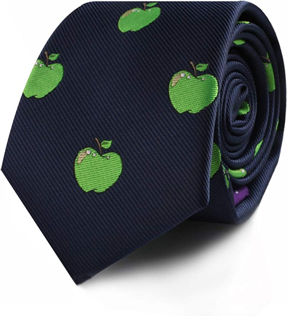 Food & Drink Ties   Speciality Ties for Men   Woven Skinny Neckties   Present for Work Colleague   Bday Gift for Guys