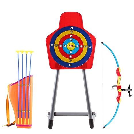 be782c6a7faa7 deAO Juego de Tiro al Blanco con Infrarrojos Conjunto de Arco y Flechas  Playset Infantil Incluye