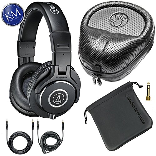 Audio Technica ATH M40x Professional Headphones Headphone