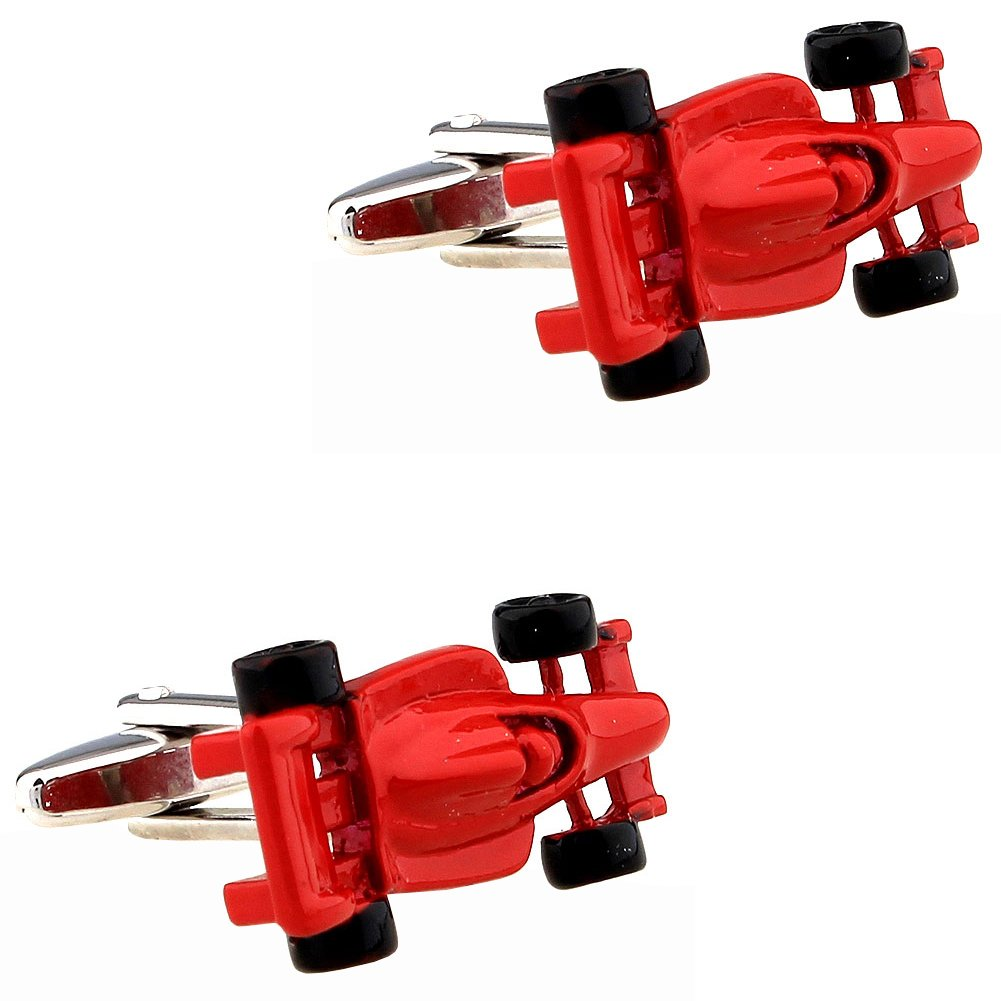 CIFIDET Red Racing Car Auto Cuff Links Fashion Men Shirt Cufflinks With Gift Box TZG Cuff Links