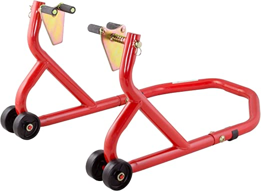 BikeTek Series 3 - Soporte frontal para bicicleta, color rojo ...