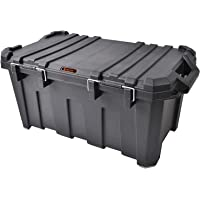 Tactix 85 Liter Heavy Duty Storage Box - Black