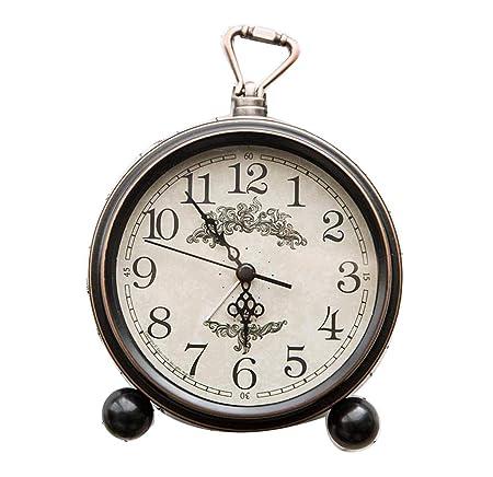CLHXZE Reloj de Mesa para niños Reloj de Alarma silencioso Reloj ...