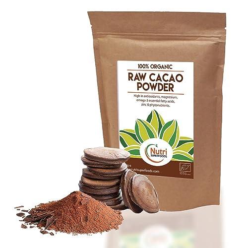 Cacao Powder, Raw, Peruvian vegan dark chocolate ingredient. Sugar free healthy option. Certified Organic - 200g