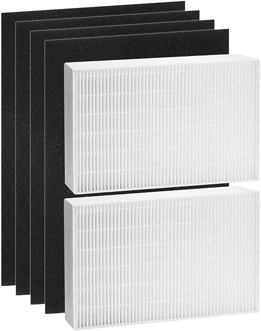 Tomkity 2 True HEPA Filter Plus 4 filtros de carbón activado ...