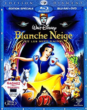 Blanche Neige Et Les Sept Nains Combi Pack Blu-ray Import belge ...