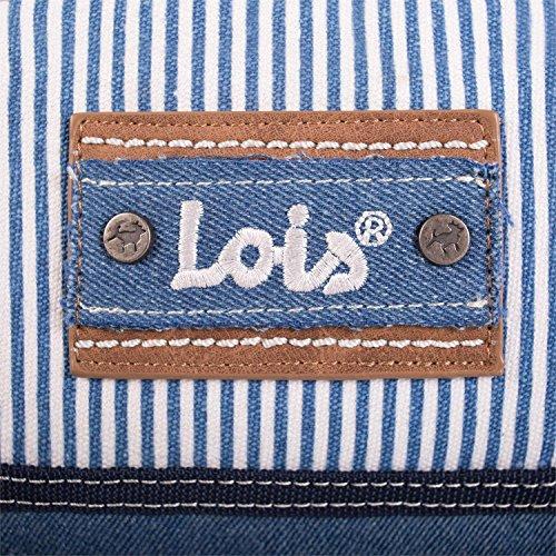 LOIS - 26184 UMHÄNGETASCHE, Color Blau Blau