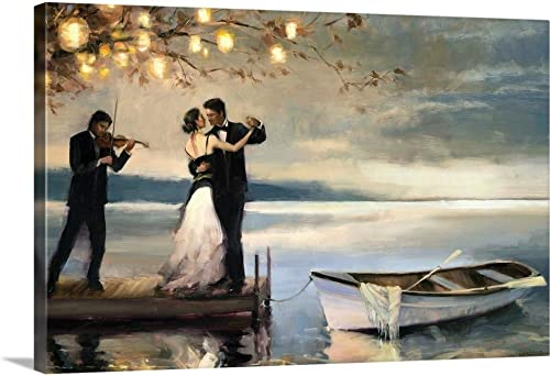 Twilight Romance Canvas Wall Art Print