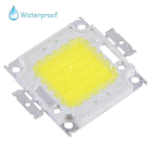 Gugutogo - Bombillas LED SMD de 100 W de alta potencia, impermeables, ahorro de