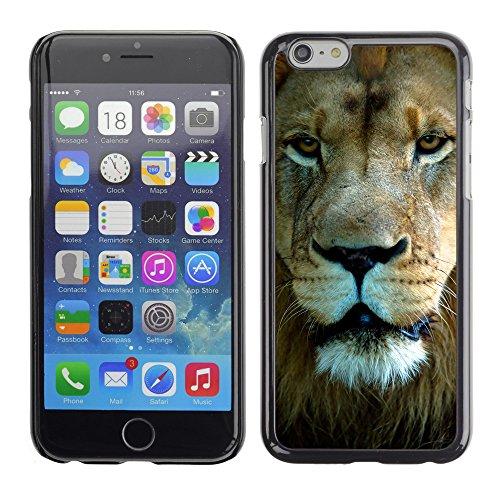"Premio Sottile Slim Cassa Custodia Case Cover Shell // V00002164 portrait Lion // Apple iPhone 6 6S 6G 4.7"""