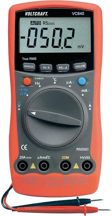 Voltcraft Vc 840 Multimeter True Rms Digital Elektronik
