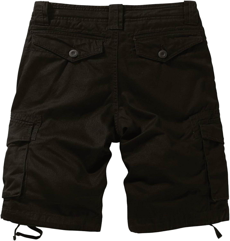 Match Uomo Pantaloncini Corti Vintage Bermuda Cargo Short #S3612