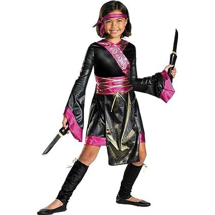 Disfraz DI50042-M Chicas Drag-n Ninja Costume Size Medium ...