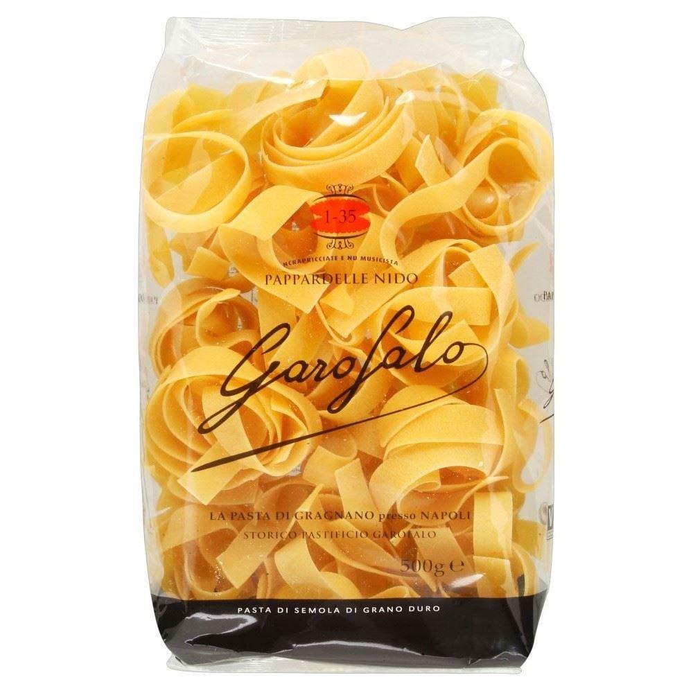 Garofalo Parpadelle Nido Pasta (500g) - Pack of 2
