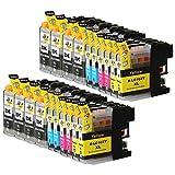 Ink & Toner Geek 20 Pack Compatible Inkjet Cartridges for LC-101 LC-103 LC-103 XL Brother DCP-J132W DCP-J152W DCP-J172W DCP-J4110DW DCP-J552DW DCP-J752DW MFC-J245 MFC-J285DW MFC-J4310DW MFC-J4410DW