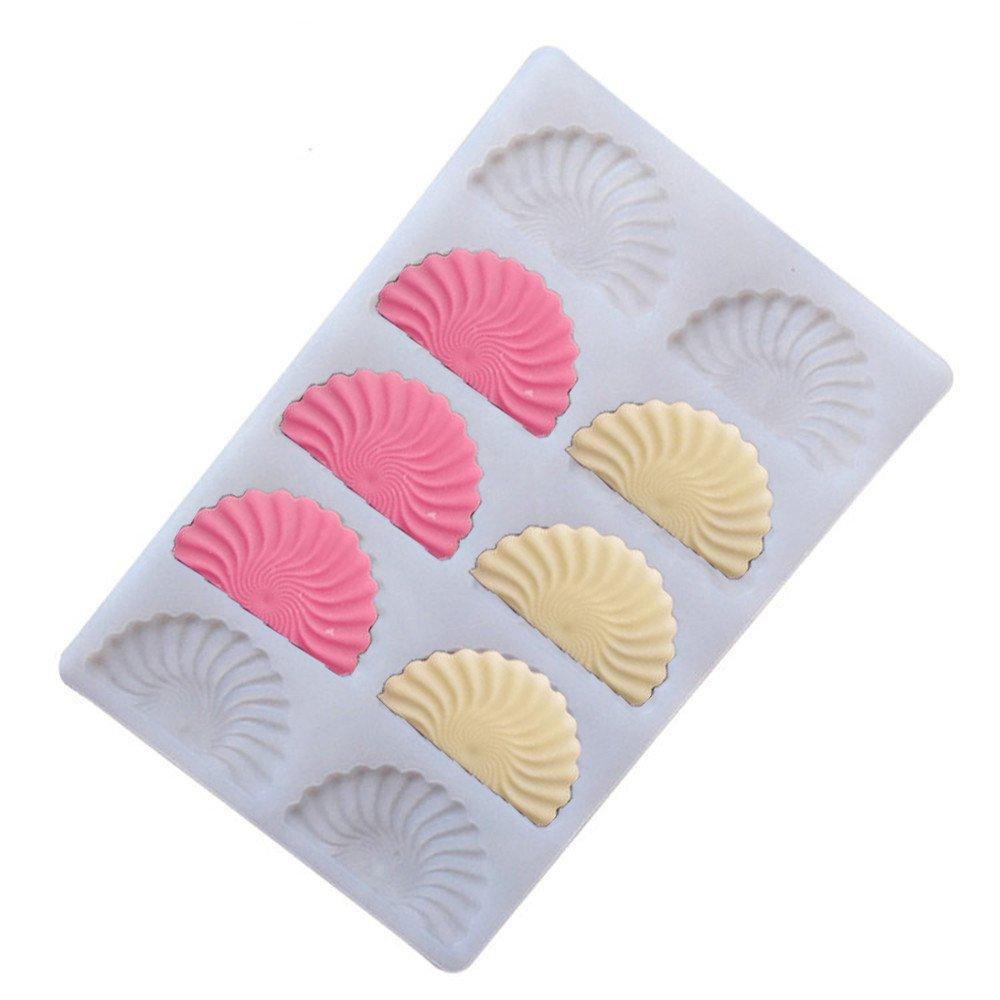 Moldes de Silicona para Repostería - - 3D Sector Molde De Silicona para Magdalenas Muffins Pastel Mazapán Fondant Jelly Chocolate y Jabón - Hecho a Mano ...