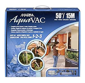 Marina Easy Clean Water Changer, 50-Foot Hose