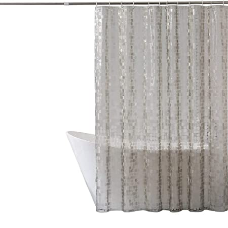 Eurcross Clear Shower Curtainmould Proof Extra Long Shower Curtain