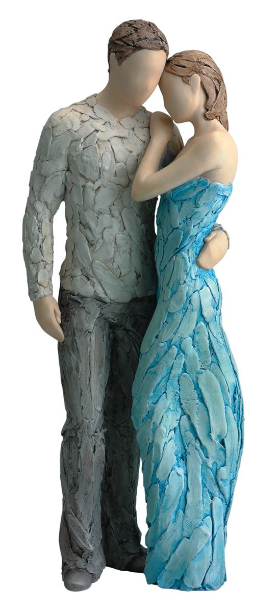 Click to buy Wedding Reception Decoration Ideas: More Than Words Collectible Figurine- FOREVER YOURS TURQUOIS
