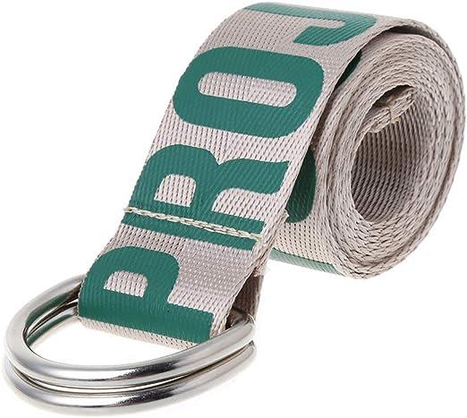 Dabixx - Cinturón de Lona Unisex para Hombre y Mujer (algodón ...