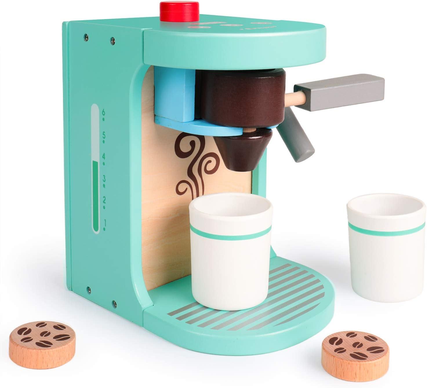 Juguete para máquina de café de Madera, Juguete Educativo temprano ...