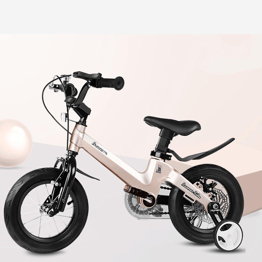 自転車 子供用航空マグネシウム合金自転車2-4-6-7-8-9-10-11-12年少年少年少女のためのキャリー (サイズ さいず : 18 inch) B07DPP8G2P 18 inch 18 inch