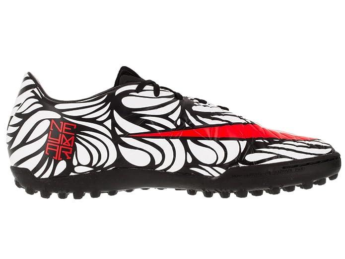 Boys Nike Jr. Hypervenom Phelon II Neymar AG Black/White/Bright Crimson