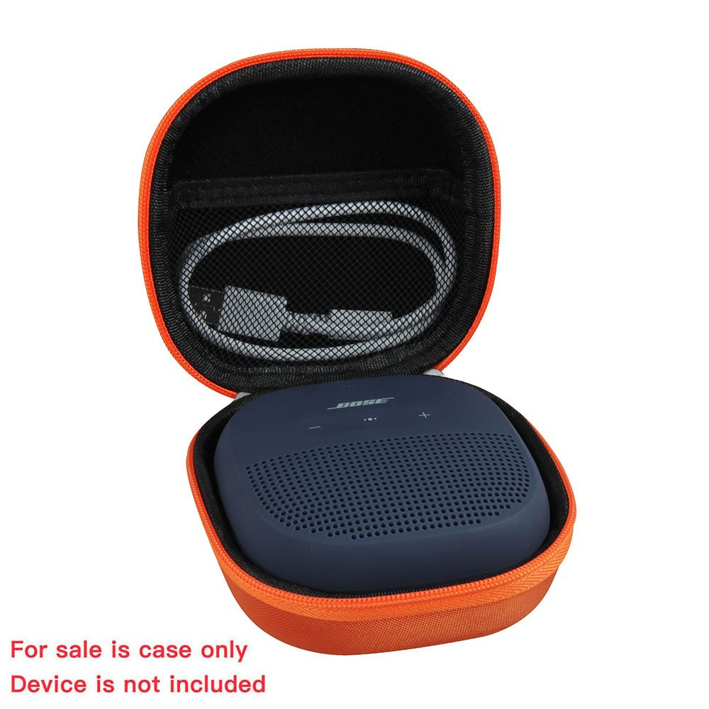 Hard EVA Travel Bright Orange Case for Bose SoundLink Micro Bluetooth Speaker by Hermitshell by Hermitshell (Image #2)