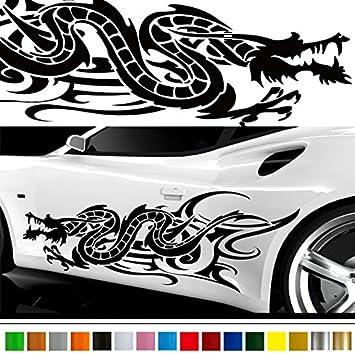 Amazoncom Dragon Car Sticker Car Vinyl Side Graphics Pre Car - Custom car stickers