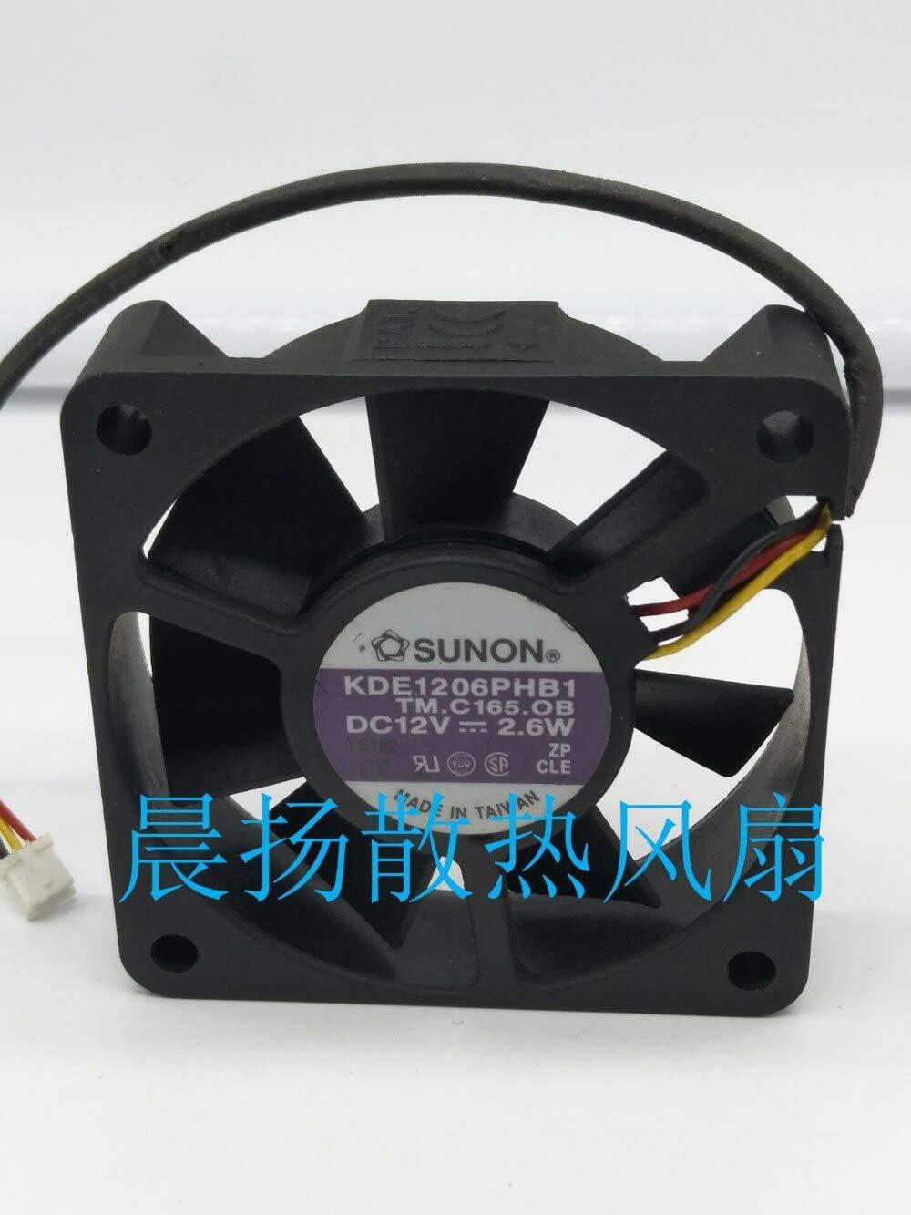 Original SUNON KDE1206PHB1 6015 12V 2.2W 60 60 15MM cooling fan