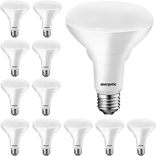 12 Pack BR30 LED Indoor Flood Lights, Dimmable, 8.5W=65W, 3000K Warm White, 650 LM, E26 Base, BR30 65W Indoor Flood - UL Listed