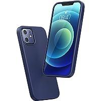 UGREEN Funda de Silicona Compatible con iPhone 12/12 Pro 6,1 Pulgadas, Carcasa con Silicona Líquida Tacto Suave, Case…