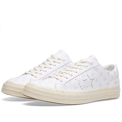 buy popular e9370 2bebe Converse Ladies One Star 74 Ox White Parchment  Amazon.co.uk  Shoes   Bags