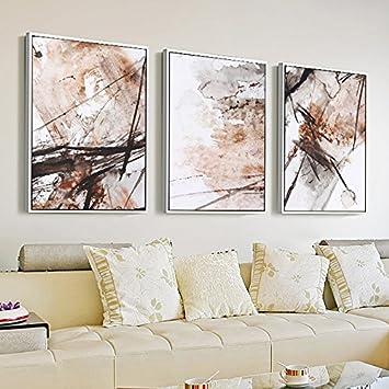 Fantastisch Patined Wohnzimmer Dekoration Malerei Abstrakte Malerei Esszimmer Wand Malerei  Moderne Kombination Kreativer Geheimnis Wandmalerei Sofa Hintergrund