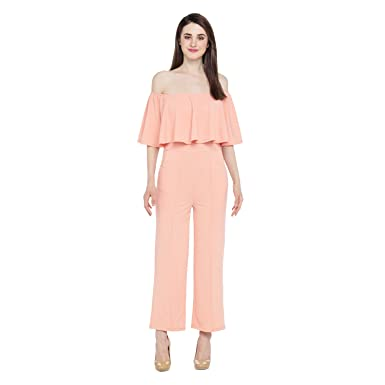 9ccdebf31e99 Annabelle By Pantaloons Women s Jumpsuit(110039442005 Peach X-Large ...