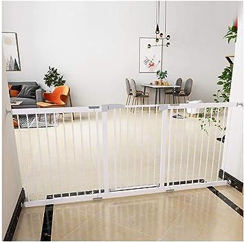 MOM Puerta de Aislamiento de Seguridad Corrales para Mascotas, Escalera Extra Ancha para Niños Protección de la Puerta de Seguridad para Niños Valla Barandilla Perforación Gratuita Aislamiento de Mas: Amazon.es: Bricolaje y